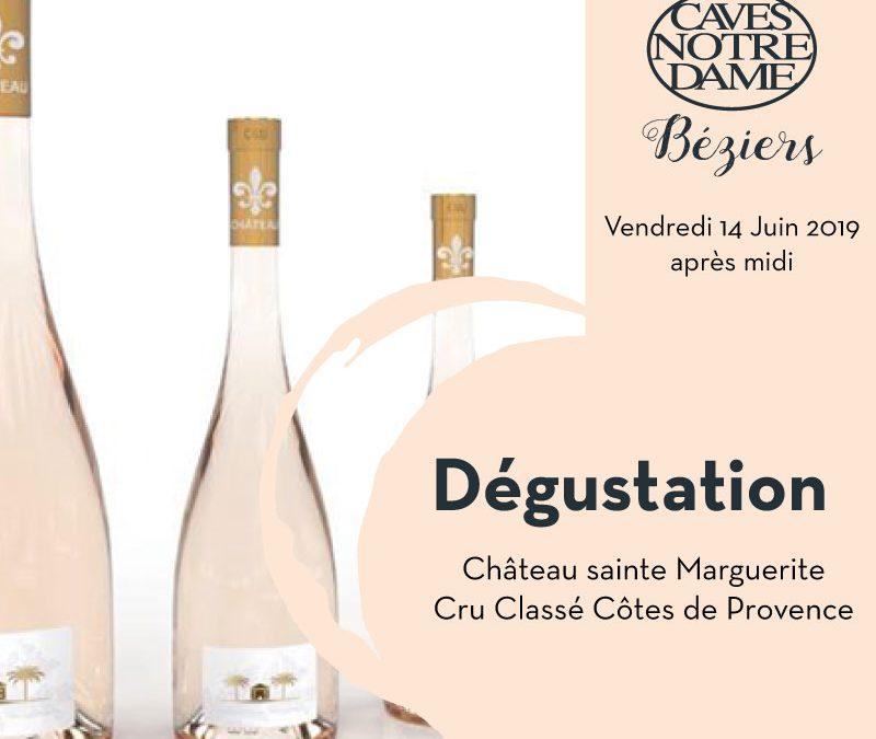Dégustation Château Sainte-Marguerite – Cru classé Provence Timelines: Dégustation Juin 2019
