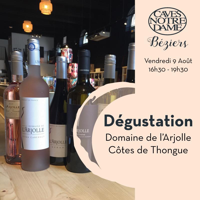 Domaine de l'Arjolle – Côtes de Thongue