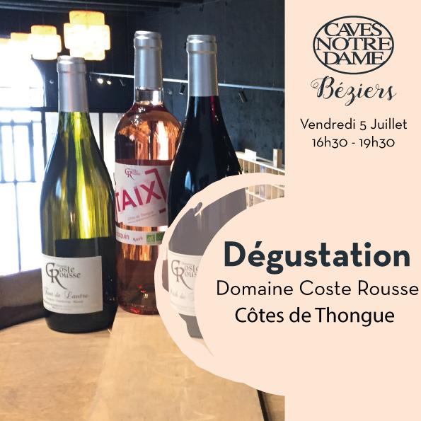 Domaine Coste Rousse – Côtes de Thongue