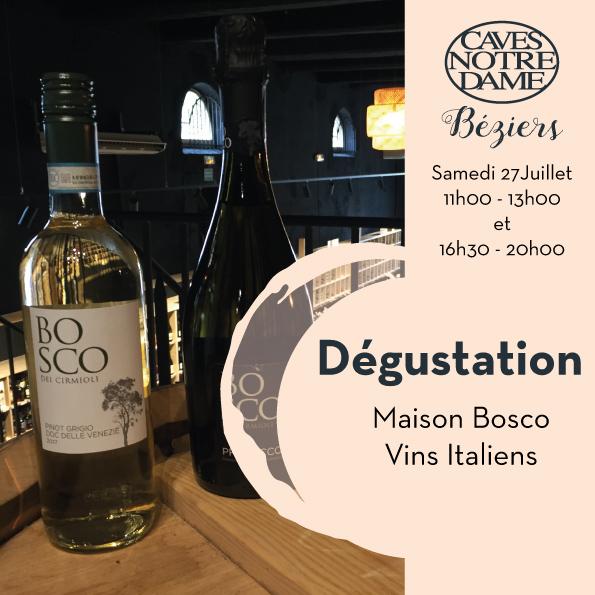 Maison Bosco – Vins Italiens