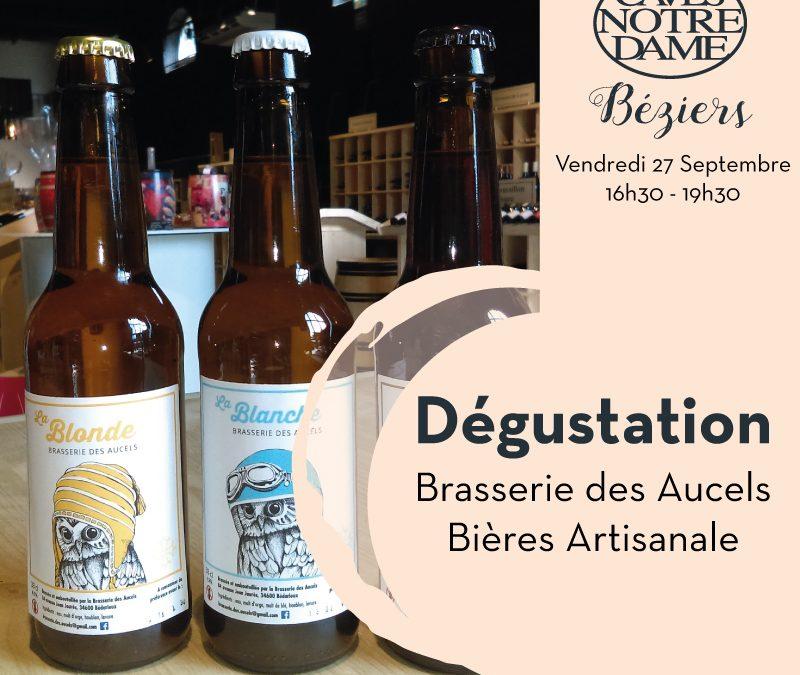 Dégustation Bières des Aucels Timelines: Dégustation de vin Septembre 2019
