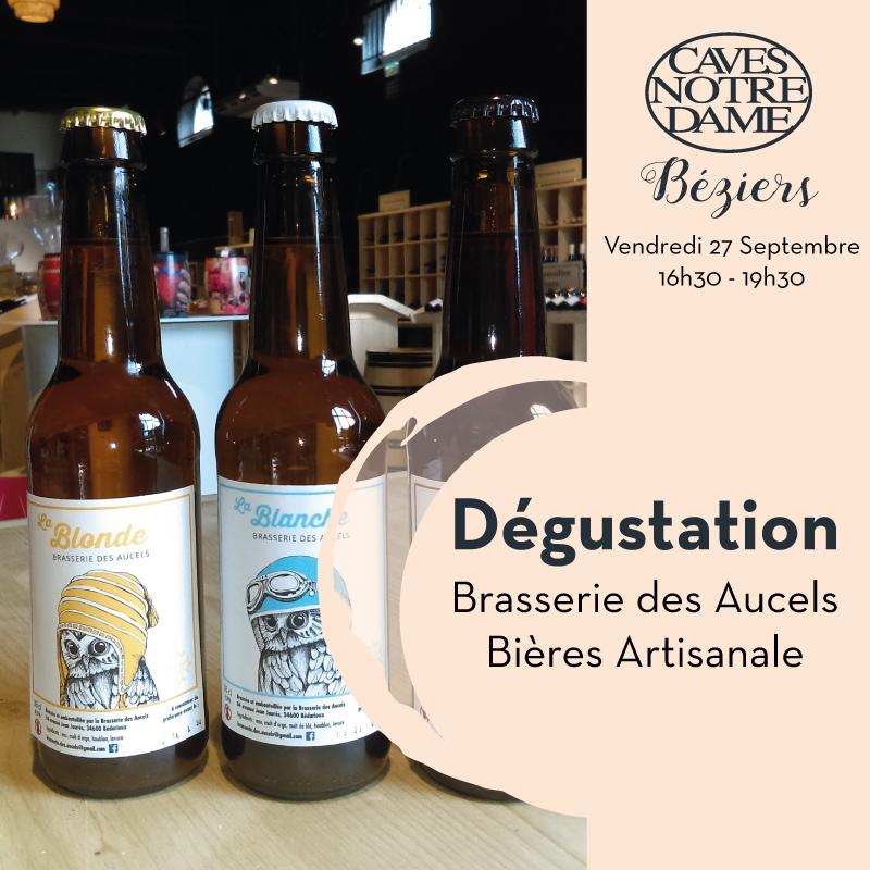 Dégustation Bières des Aucels