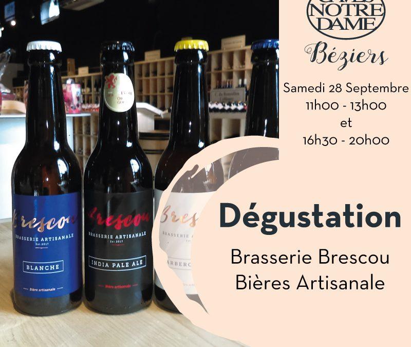 Dégustation Bières Artisanales de Brescou Timelines: Dégustation de vin Septembre 2019