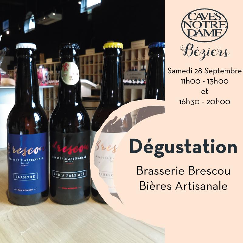 Dégustation Bières Artisanales de Brescou
