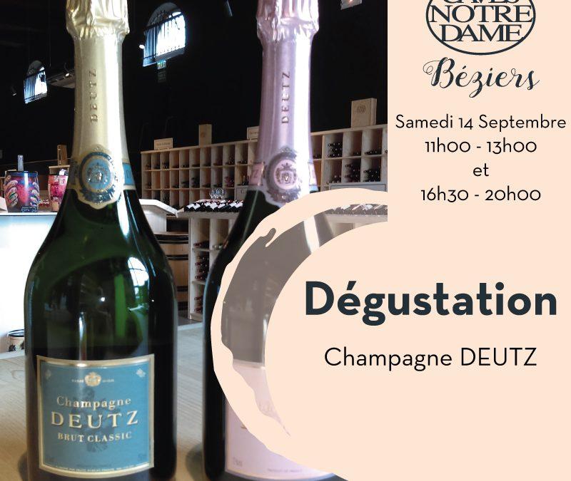 Dégustation Champagne Deutz Timelines: Dégustation de vin Septembre 2019
