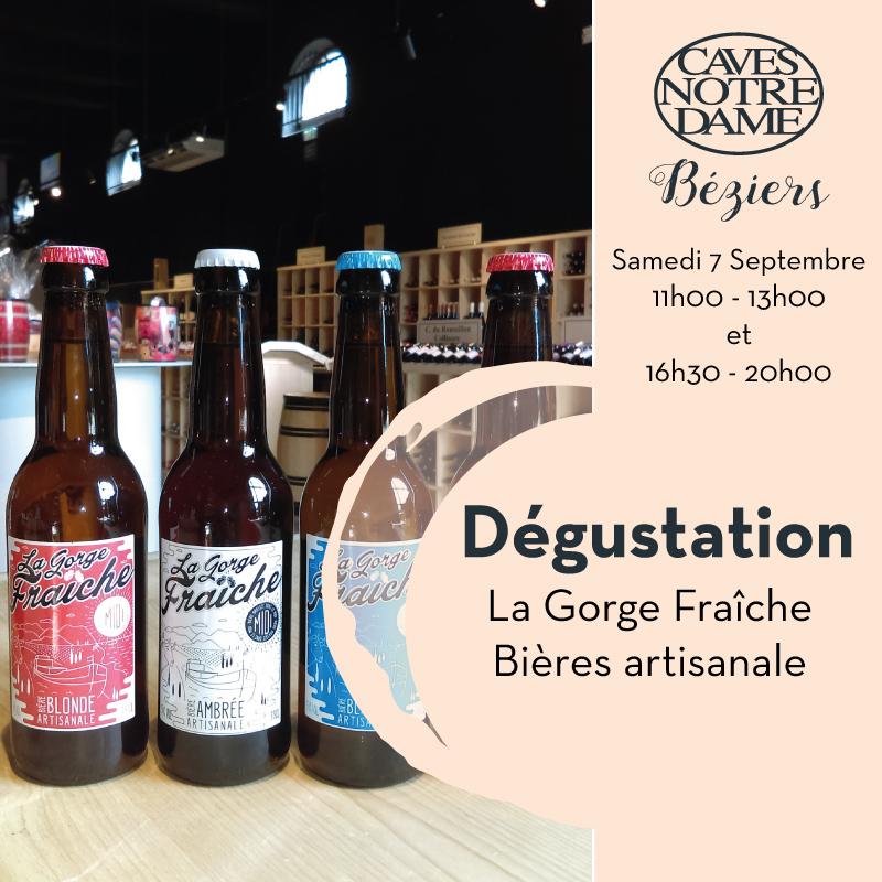 La Gorge Fraîche – Bières Artisanale