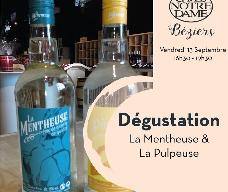 Dégustation La Mentheuse et La Pulpeuse Timelines: Dégustation de vin Septembre 2019