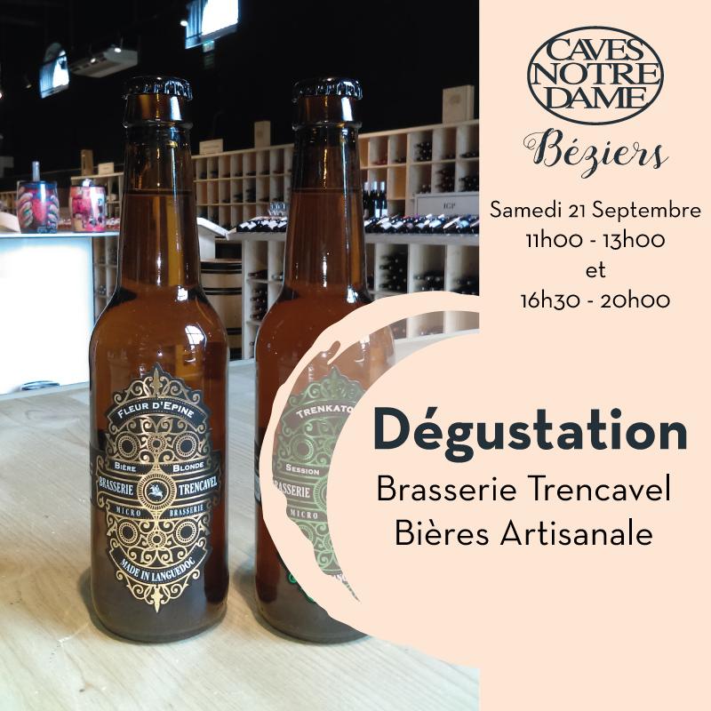 Dégustation Bières Artisanale Trencavel