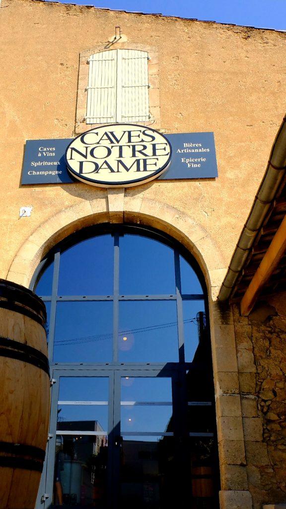 Entrée des Caves Notre-Dame Béziers