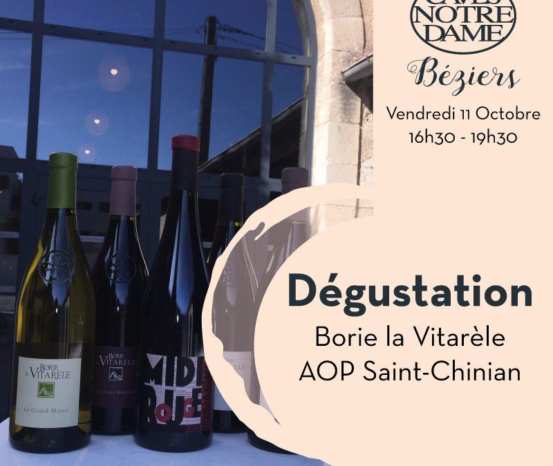 Borie la Vitarèle Timelines: Dégustation de Vin Octobre 2019
