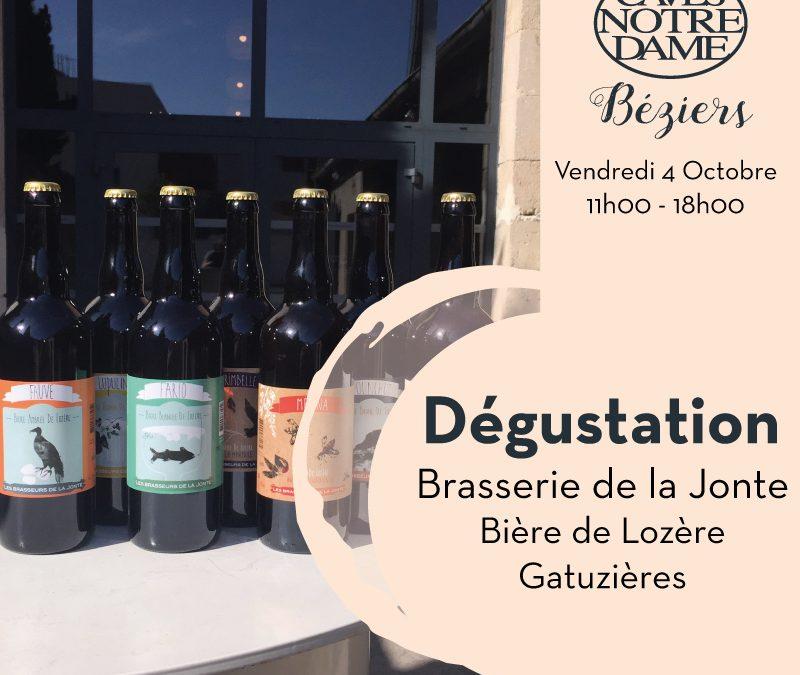 Brasserie de la Jonte Timelines: Dégustation de Vin Octobre 2019