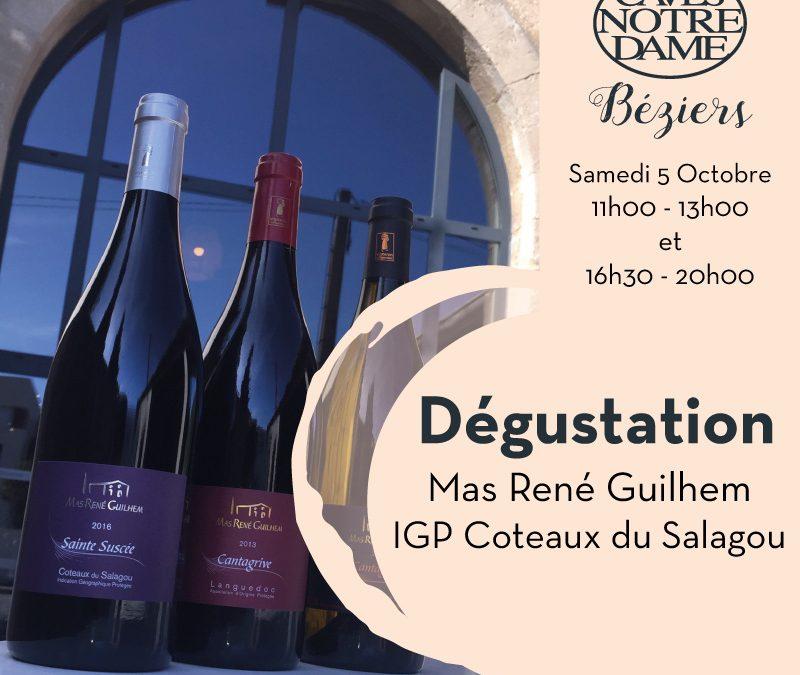 Mas René Guilhem Timelines: Dégustation de Vin Octobre 2019