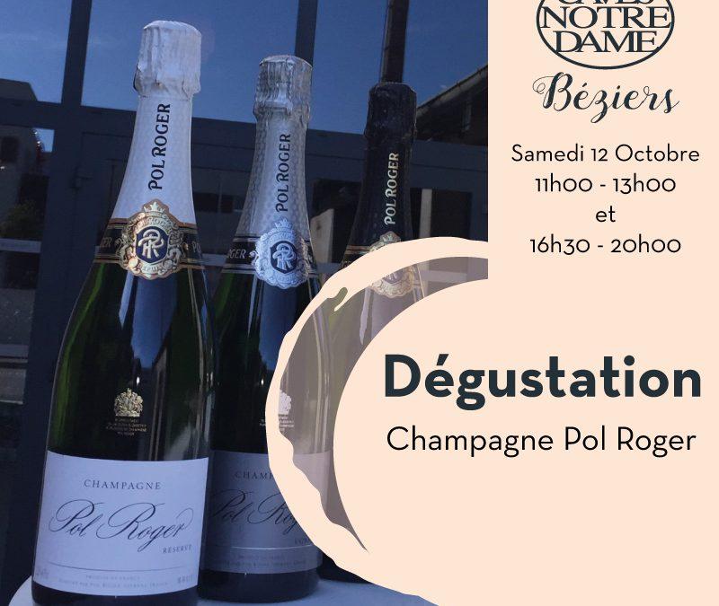 Champagne Pol Roger Timelines: Dégustation de Vin Octobre 2019