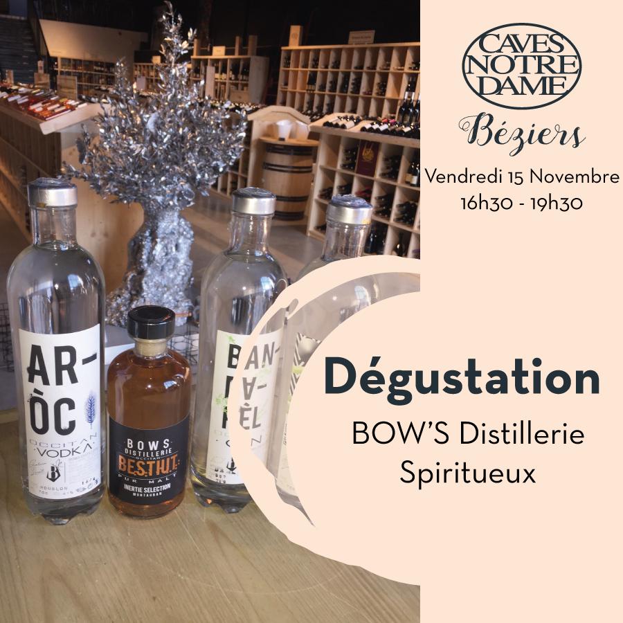BOW'S Distillerie Spiritueux