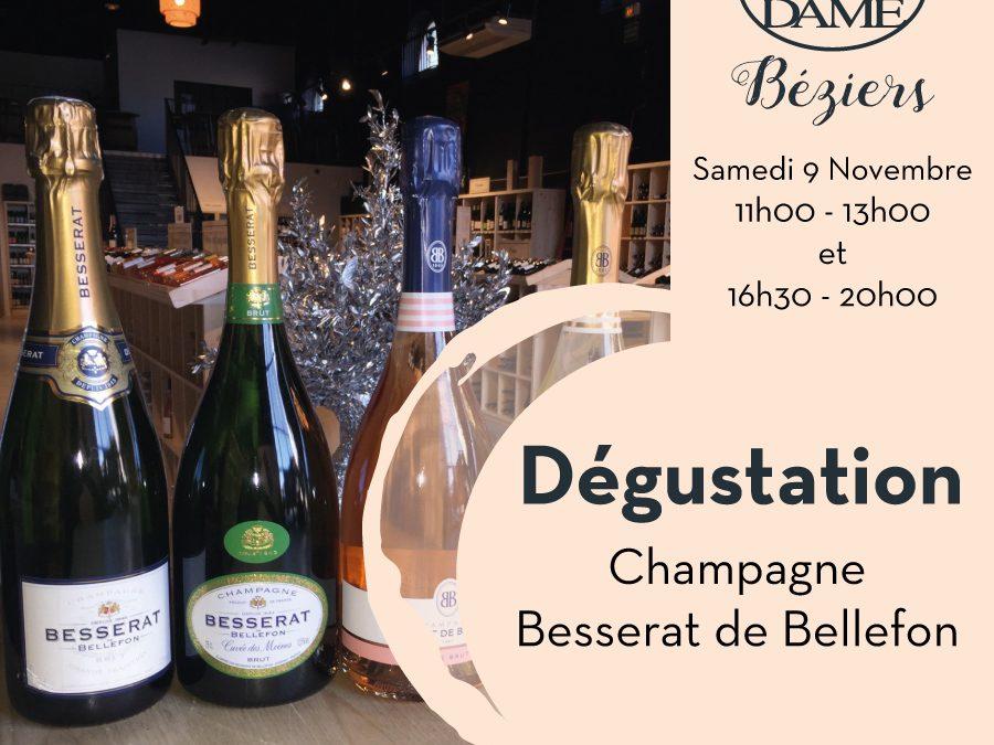 Champagne Besserat de Bellefon Timelines: Dégustation de Vin Novembre 2019