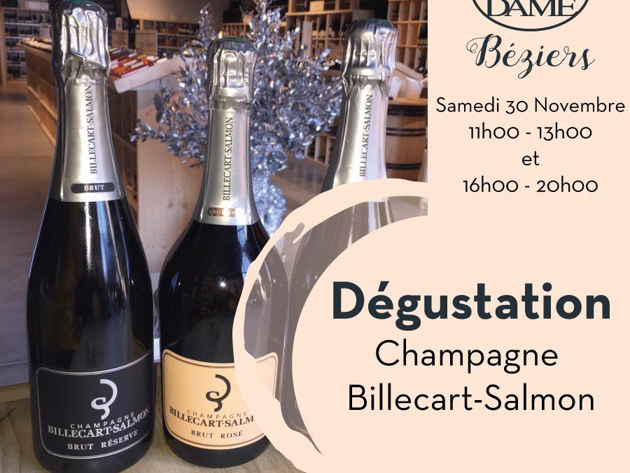 Champagne Billecart-Salmon Timelines: Dégustation de Vin Novembre 2019