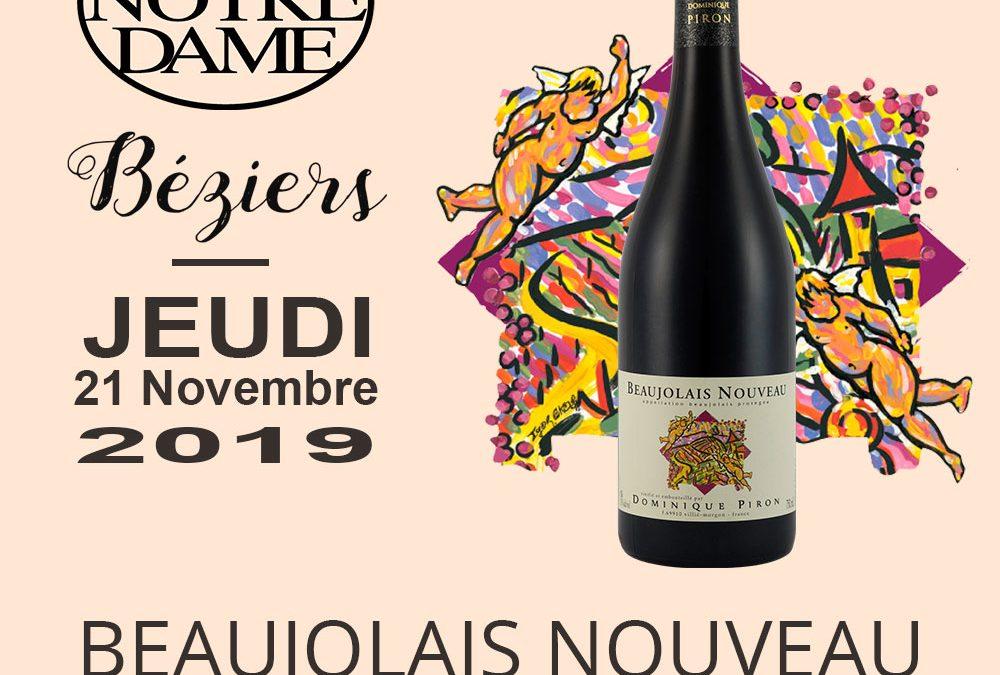 Journée Beaujolais Nouveau 2019 Timelines: Dégustation de Vin Novembre 2019