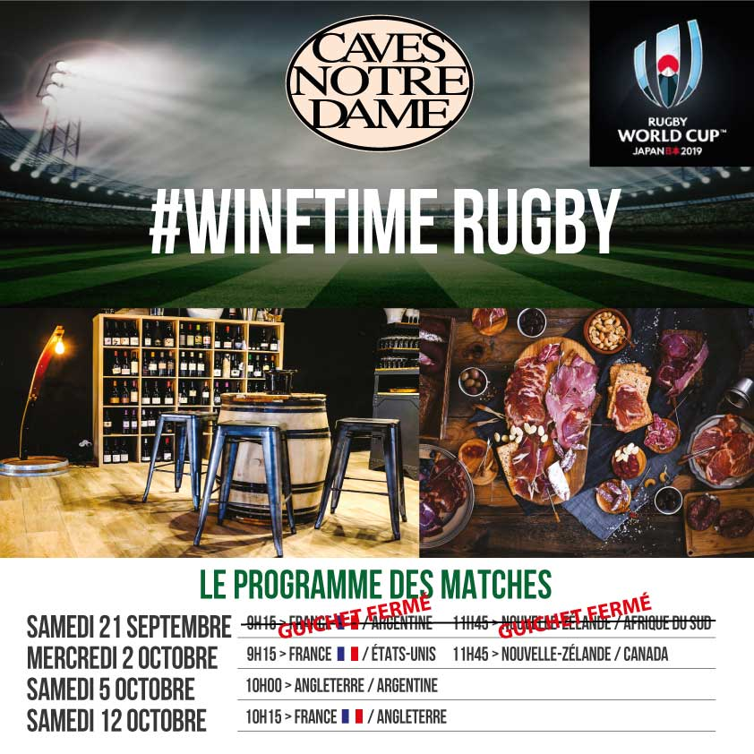 #Winetime Rugby – France / USA