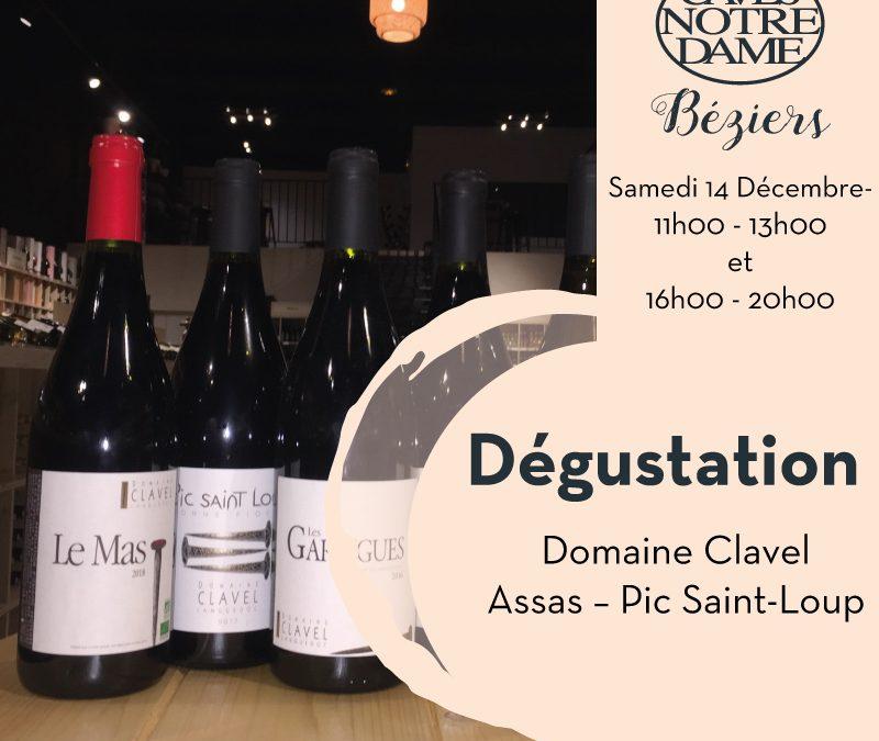 Domaine Clavel Timelines: Dégustation de Vin Décembre 2019
