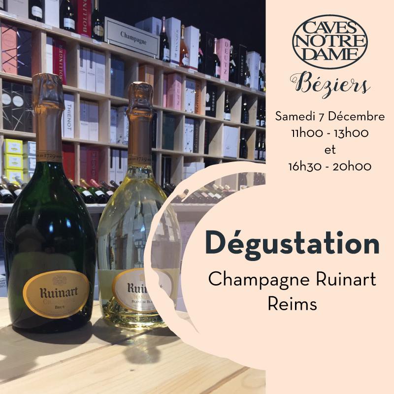 Champagne Ruinart – Reims