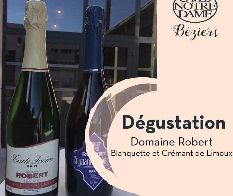 Domaine Robert – Blanquette et Crémant de limoux Timelines: Dégustation de Vin Janvier 2020
