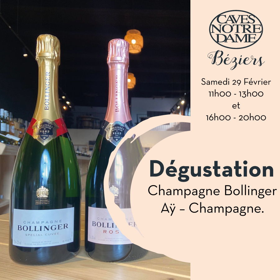 Champagne Bollinger – Aÿ – Champagne.