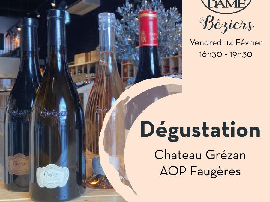 Chateau Grézan – Laurens – Aop Faugères Timelines: Dégustations vigneronnes du mois de Février 2020