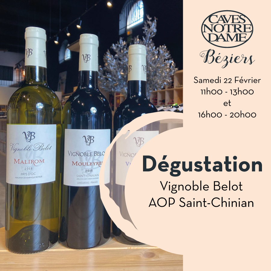 Vignoble Belot – Pierrerue –  Aop Saint-Chinian