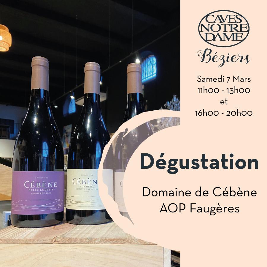 Domaine de Cébène – Faugères – AOP Faugères