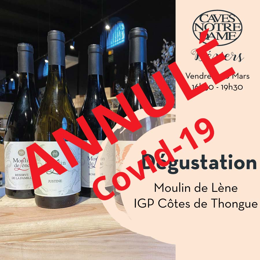 Moulin de Lène – Magalas – IGP Côtes de Thongue